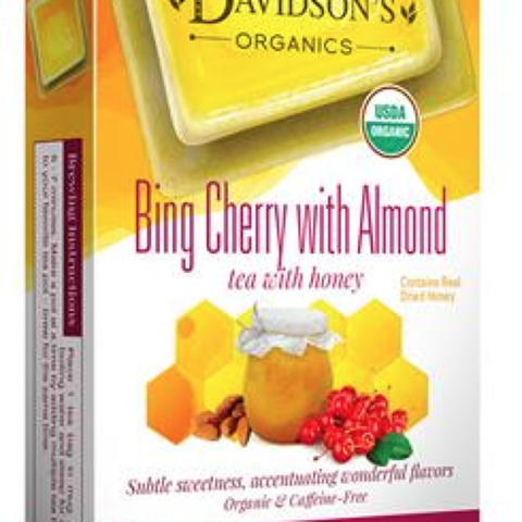 BING CHERRY WITH ALMOND