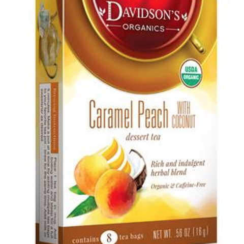 Caramel Peach with Coconut
