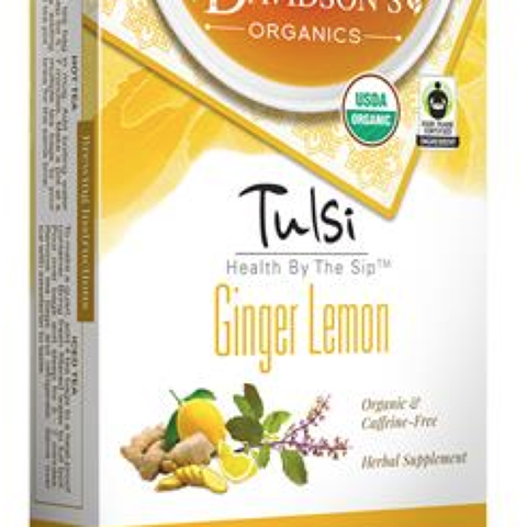 Tulsi Ginger Lemon