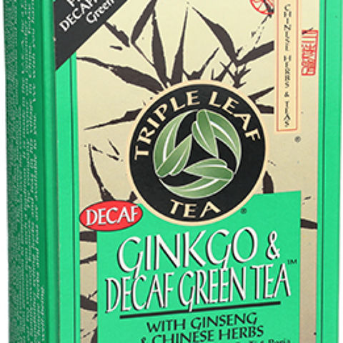 Ginkgo and Green Tea Decaffeinated