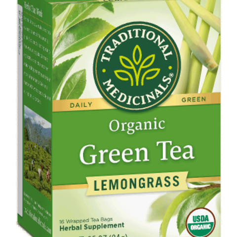 Organic Green Tea Lemongrass