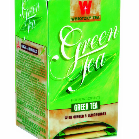 Green Tea with Ginger & Lemongrass