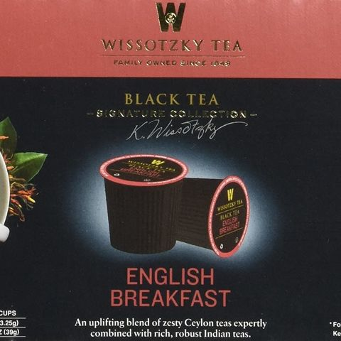 English Breakfast Black Tea - Single Cups