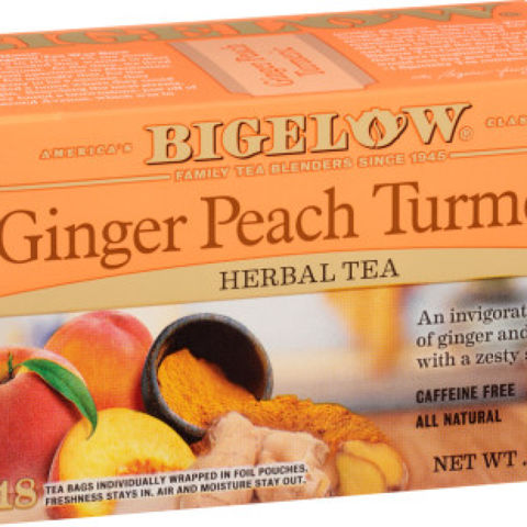 Ginger Peach Turmeric Herbal Tea