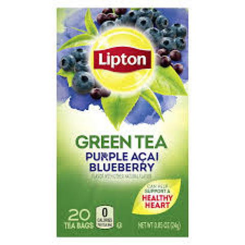 Purple Acai Blueberry Green Tea
