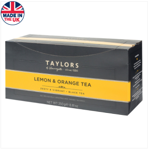 LEMON & ORANGE TEA BAGS