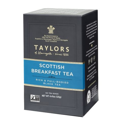 SCOTTISH BREAKFAST BLACK TEA BAGS