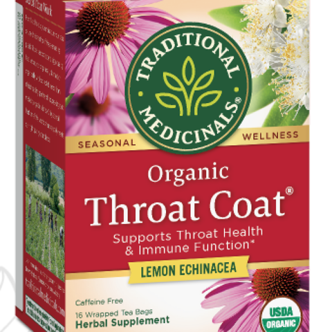 Throat Coat Lemon Echinacea