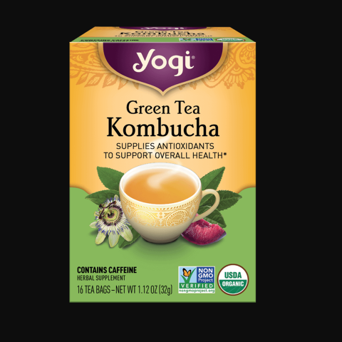 Green Tea Kombucha