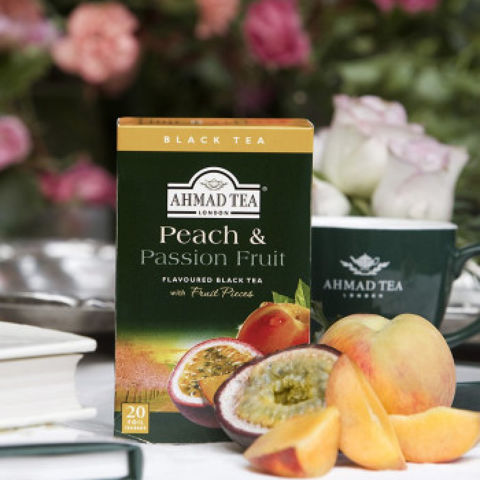 PEACH & PASSION FRT BLACK TEA BAGS