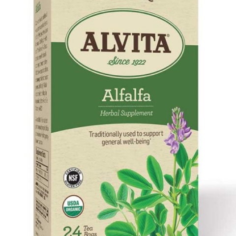 ALFALFA LEAF HERBAL TEA BAGS