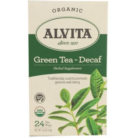 CHINESE GREEN TEA DECAF TEA BAGS