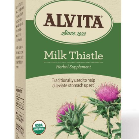MILK THISTLE TEA BAGS
