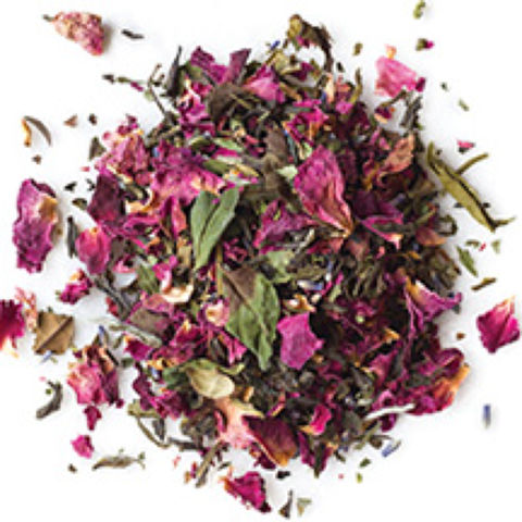 WHITE TEA ROSE MELANGE WHITE TEA BLEND