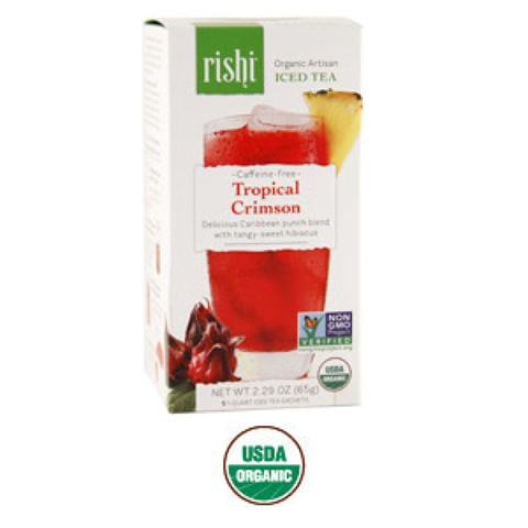 TROPICAL CRIMSON CAFFEINE-FREE ICED TEA