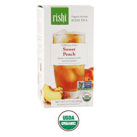 SWEET PEACH CAFFEINE-FREE ICED TEA