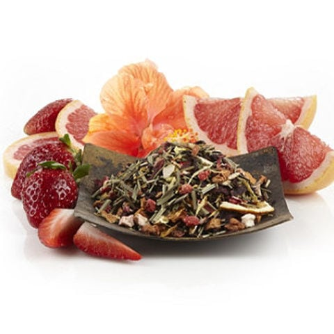STRAWBERRY GRAPEFRUIT XUE LONG GREEN TEA