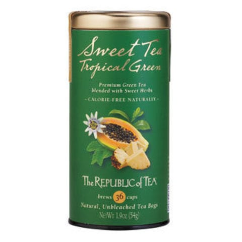 SWEET TEA TROPICAL GREEN TEA BAGS