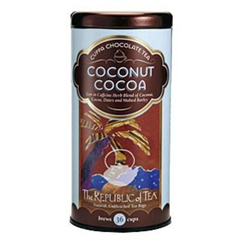 COCONUT COCOA CUPPA CHOCOLATE TEA BAGS