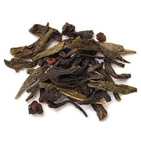 BLACK RASPBERRY GREEN TEA FULL-LEAF
