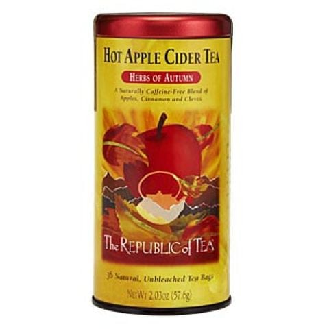 HOT APPLE CIDER TEA BAGS