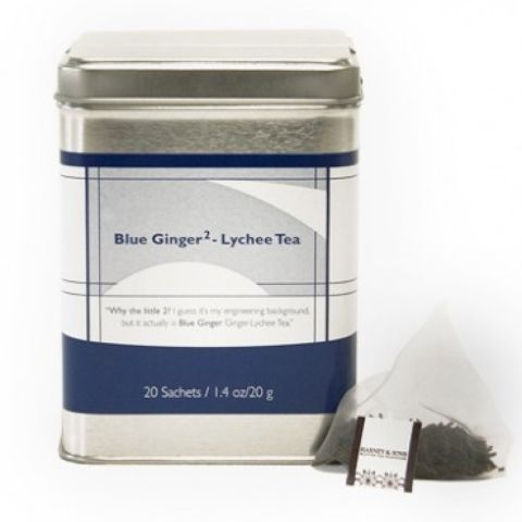 BLUE GINGER, 20 SACHET TIN , #75130
