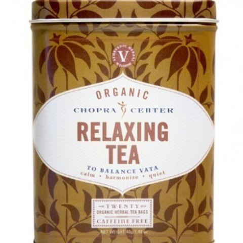 CHOPRA: ORGANIC RELAXING TEA - 20 SACHET TIN