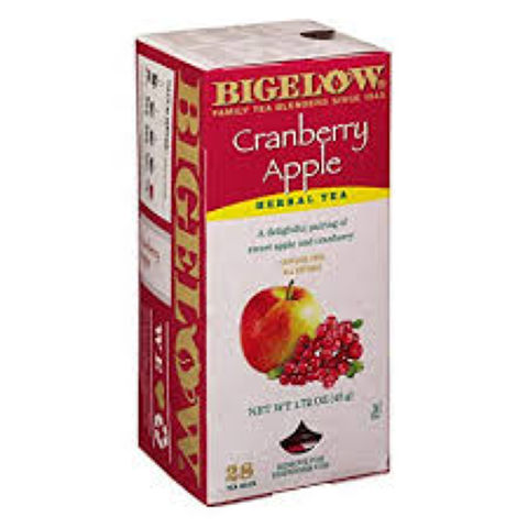 CRANBERRY APPLE HERBAL TEA BAGS