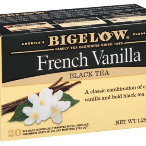 FRENCH VANILLA TEA BAGS