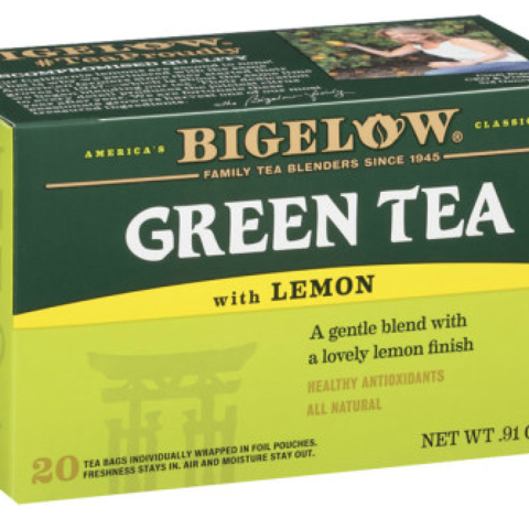 GREEN TEA WITH LEMON GREEN TEA BAGS