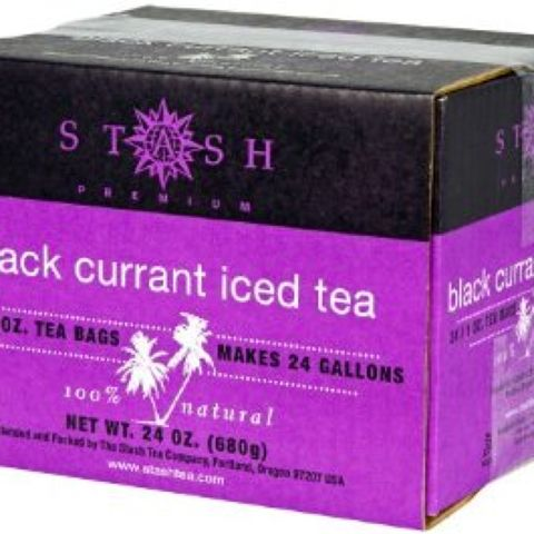 BLACK CURRANT ICED TEA