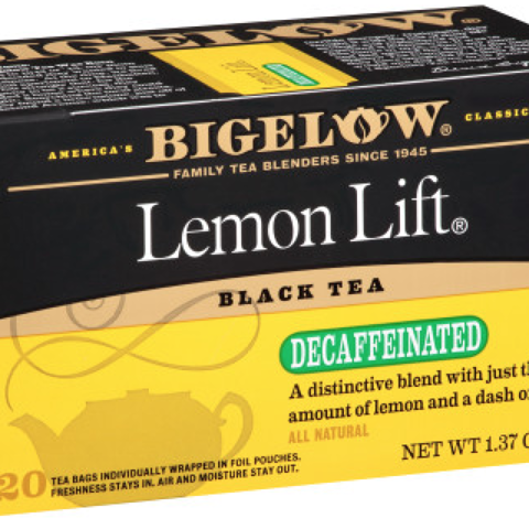 LEMON LIFT Decaf TEABAGS