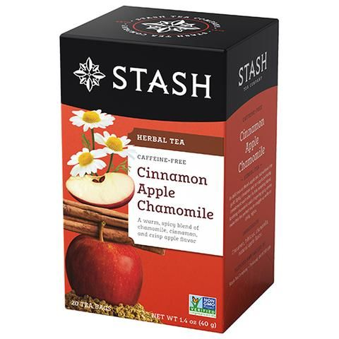 CINNAMON APPLE CHAMOMILE HERBAL TEA