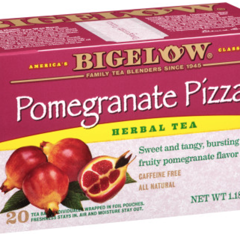 POMEGRANATE PIZZAZZ HERBAL TEA BAGS