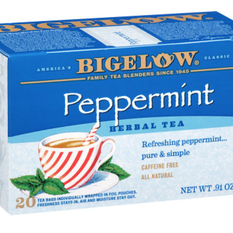 PEPPERMINT HERBAL TEA BAGS