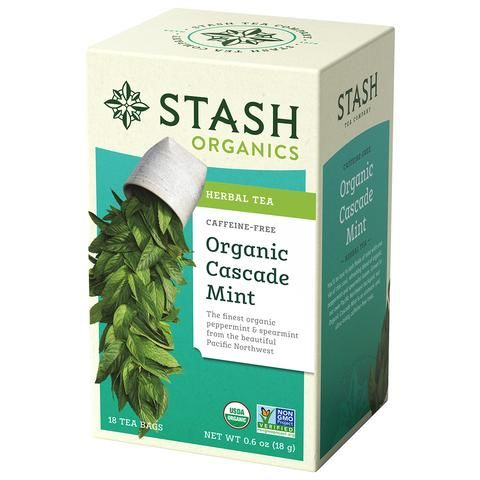 Organic Cascade Mint Herbal Tea