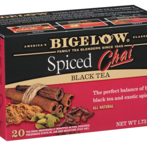 SPICED CHAI BLACK TEA BAGS