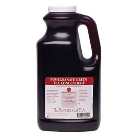 Pomegranate Green Tea Concentrate