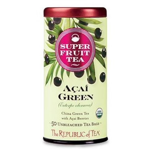 Organic Açaí Green Superfruit Tea