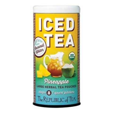 Organic Pineapple Coconut Water Iced Tea