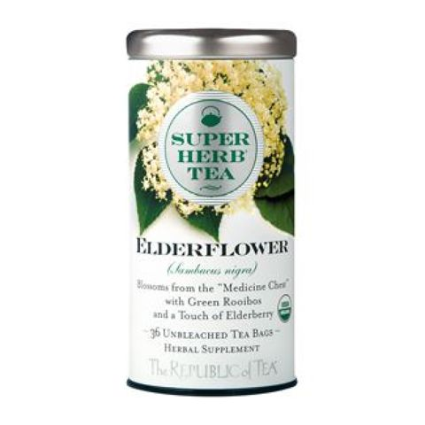 Organic Elderflower SuperHerb® Tea