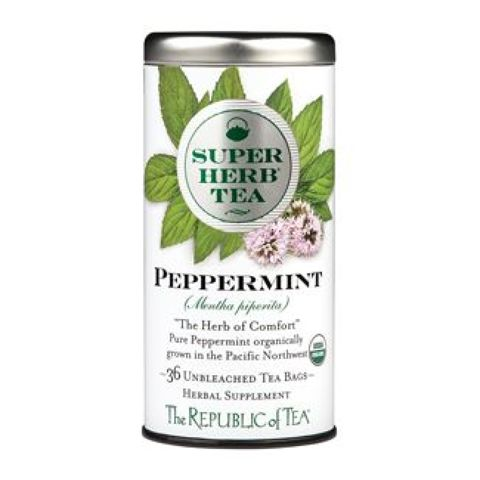 Organic Peppermint SuperHerb Tea