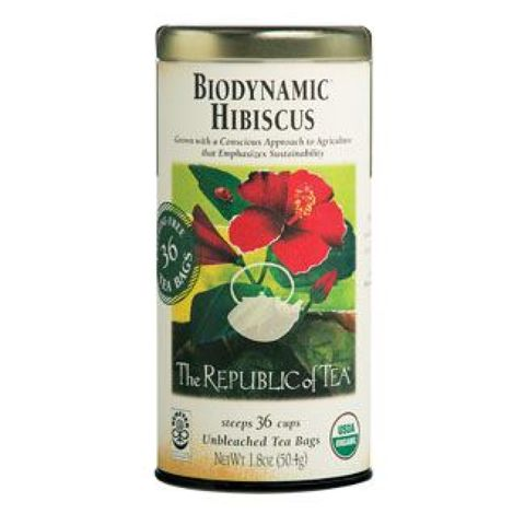 Biodynamic Hibiscus Tea