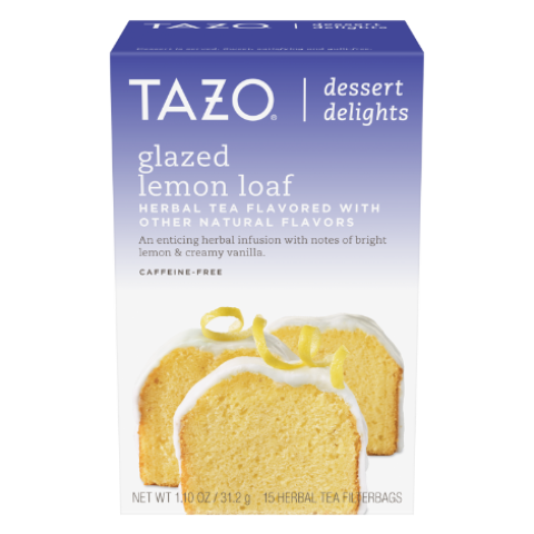 Glazed Lemon Loaf Herbal Tea
