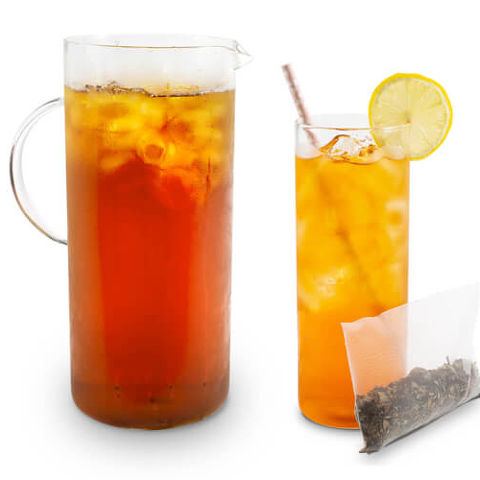 white blueberry iced tea