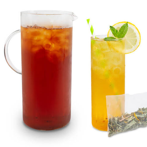 Citrus Mint Green Iced Tea