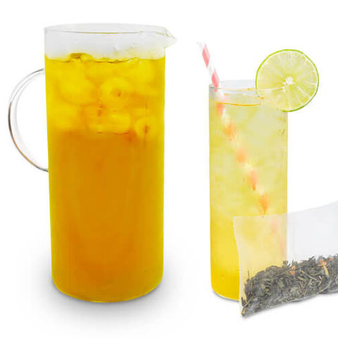 mango green iced tea