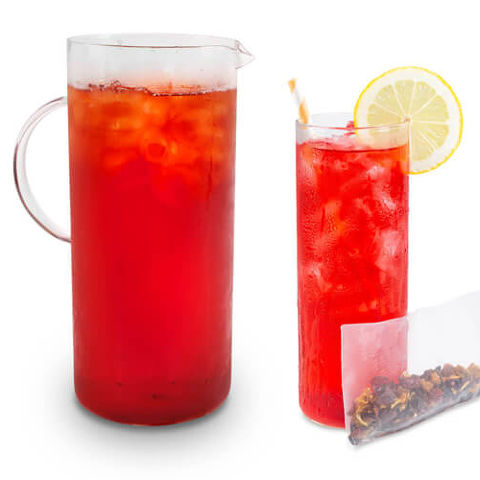 Blood Orange Iced Tea