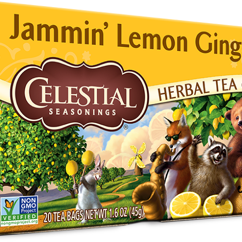 Jammin' Lemon Ginger