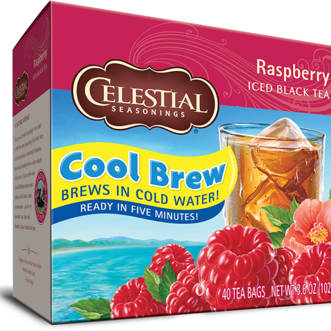Raspberry Cool Brew